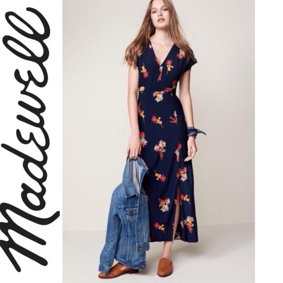 81cf34edffd Cactus Flower Print Maxi Dress